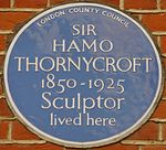 HamoThornycroftBluePlaque.jpg