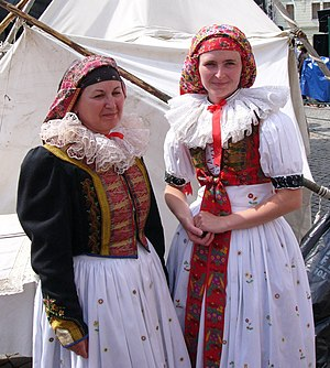 Haná - National costume of Haná