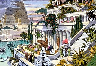 Hanging Gardens of Babylon One of the Seven Wonders of the Ancient World