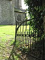 Hanging on - St Mary's churchyard gate - geograph.org.uk - 1408875.jpg