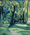 Harald Giersing , Skovinteriør. Sorø, c. 1915.jpg