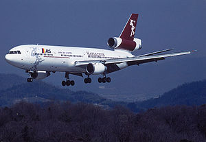 Harlequin Air - Image: Harlequin DC 10 30 jas