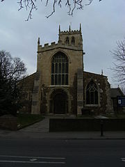 Hatfield's parish church