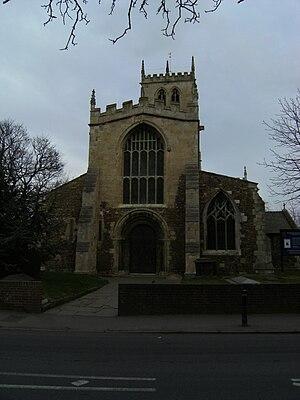 Hatfield, South Yorkshire - Hatfield's parish church