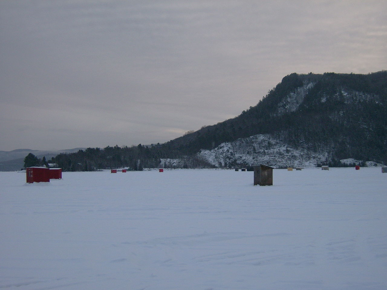 Original file 3 264 2 448 pixels file size mb for Ice fishing huts