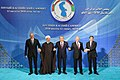 Heads of State of Caspian littoral states made press statements at Aktau Summit 6.jpg