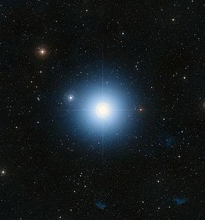 Fomalhaut star in the constellation Piscis Austrinus