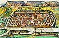 Heilbronn 1617 kolorierter Kupferstich aus Civitates Orbis terrarum.jpg