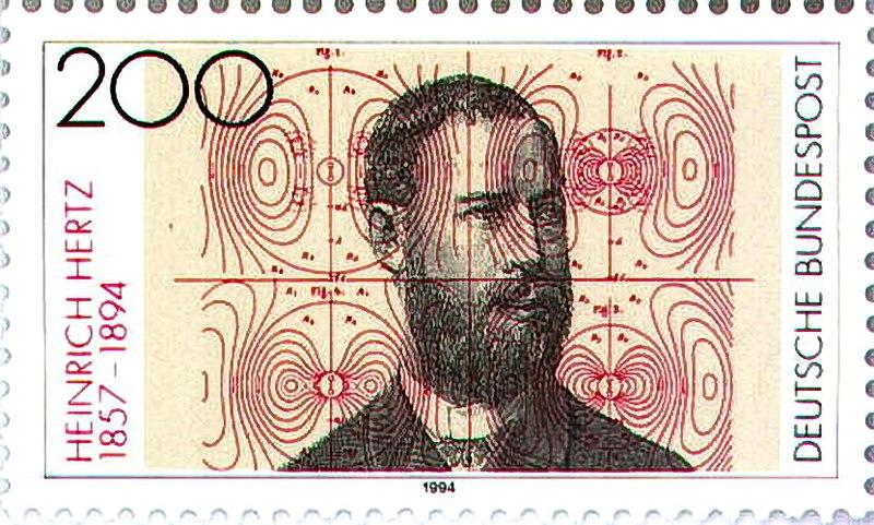 Heinrich Rudolf Hertz birthday
