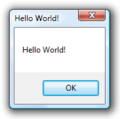 Hello World! in AutoIt! 3.2 on Windows Vista.png