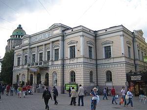 Vilhelm Helander - The Old Student House, restored by Helander and Leiviskä in 1978-80.