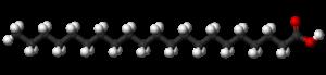 Heneicosylic acid - Image: Heneicosylic acid 3D balls