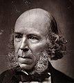 Herbert Spencer. Photograph, 1889. Wellcome V0027201.jpg