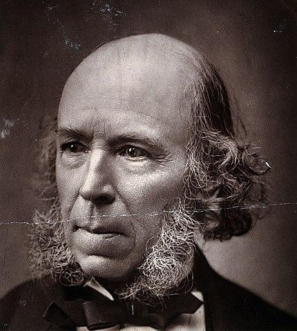 File:Herbert Spencer. Photograph, 1889. Wellcome V0027201 ...