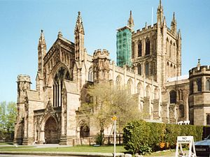 Hereford Cathedral Hereford-England--Cathedral--May-1991.jpg