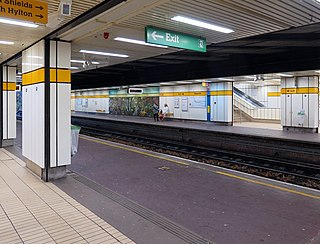 Heworth Interchange Tyne and Wear Metro and railway station in Gateshead