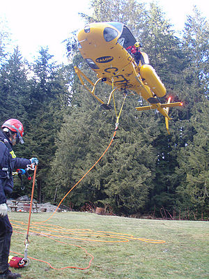 Helicopter Flight Rescue System - Image: Hfrscarriage