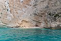 Hidden beach on island of Zakynthos (46419360732).jpg