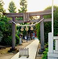 Hieda Shrine torii gate Kamata, Ota Ward, Tokyo.jpg