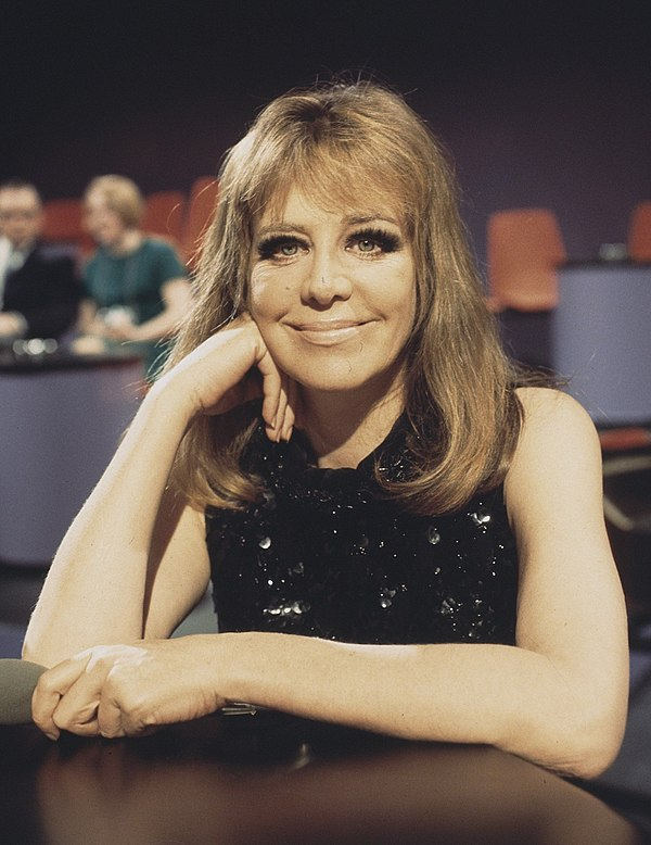 Photo Hildegard Knef via Wikidata