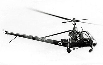 Hiller OH-23 Raven - Royal Navy Hiller HTMk1 (HTE-2) of 705 Squadron in 1953