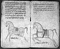 Hindi Manuscript 191, fols. 34 verso 35 rect Wellcome L0024227.jpg