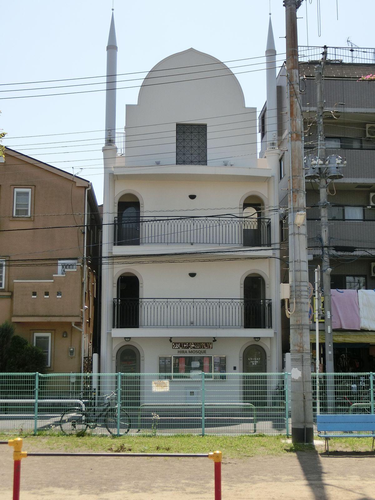 Hasil gambar untuk masjid hira japan