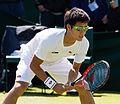 Hiroki Moriya 11, 2015 Wimbledon Qualifying - Diliff.jpg