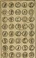 Historia Byzantina duplici commentario illustrata - prior, Familias ac stemmata imperatorum constantinopolianorum, cum eorundem augustorum nomismatibus, and aliquot iconibus - praeterea familias (14764570761).jpg