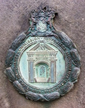 Historical Monuments Commission - Badge used on former historical monuments