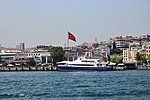 Hizir Reis III ship on the Bosphorus in Istanbul, Turkey 001.jpg