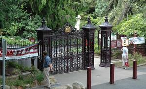 Royal Tasmanian Botanical Gardens - Image: Hobart Botanical Gardens Entrance
