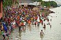Holy Bath - Jivitputrika - Ramkrishnapur Ghat - Howrah - Hooghly River 2016-09-23 9558.JPG