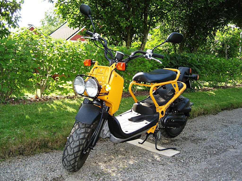 file honda zoomer 50cc scooter 2008 model jpg wikimedia commons. Black Bedroom Furniture Sets. Home Design Ideas