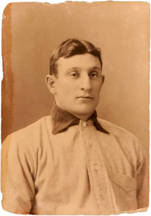T206 Honus Wagner - Cabinet Photo c. 1902 used for the Wagner T206 image