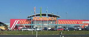 Hornbach (hypermarket) - A Hornbach store