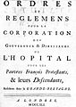Hospital for Poor French Protestants, title page. Wellcome L0000349.jpg