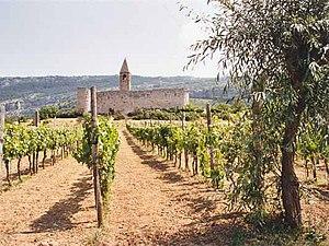 Slovene Istria - The fortified Church of the Holy Trinity in Hrastovlje