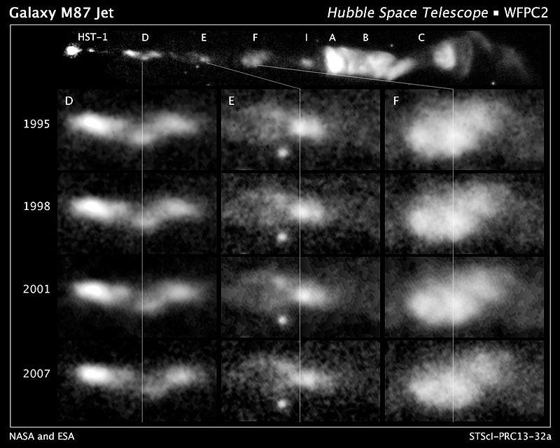 Hubble follows spiral flow of black-hole-powered jet.jpg
