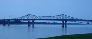 "Captain William J. Hudson ""Steamboat Bill"" Memorial Bridges - Image: Hudson Bridge Decatur"