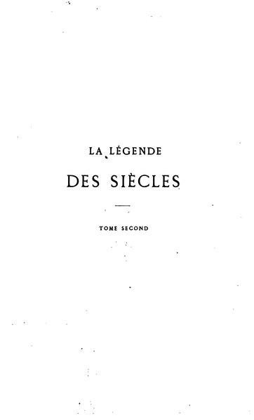 File:Hugo - La Légende des siècles, 1e série, édition Hetzel, 1859, tome 2.djvu