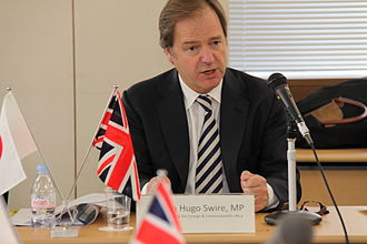 Hugo Swire - Swire opens the 12th UK-Japan Politico-Military Talks in 2013.
