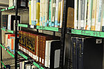 Hundreds of books in several languages at Detainee Library 130409-A-TE537-006.jpg