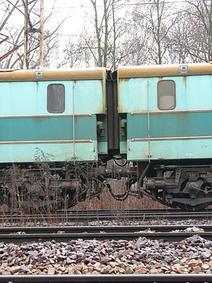 PKP class ET41 - The articulated join in ET41-104