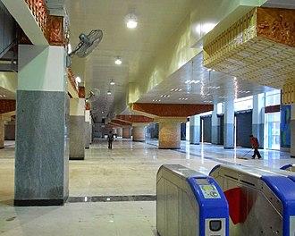 Baranagar - Noapara metro station