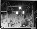INTERIOR, SOUTH WALL - Merit-Tandy Farmstead, Barn, RR 1,Box 225, Patriot, Switzerland County, IN HABS IND,78-PAT.V,1B-4.tif