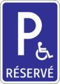 IP 16 - Parkovisko parkovacie miesta s vyhradeným státím (alternatíva) 2.png