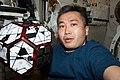 ISS-38 Koichi Wakata with SPHERES.jpg