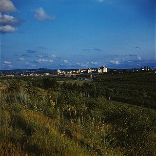 Ialoveni City in Moldova