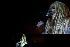 Iamamiwhoami - Image: Iamamiwhoami live at Way Out West 2011